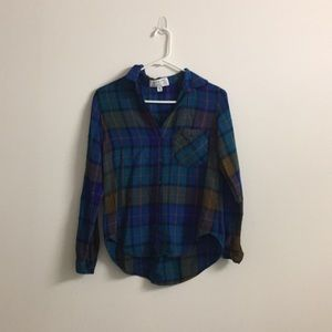 Anthropologie button down shirt NWOT